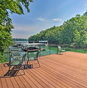Spacious Gainesville Home With Dock On Lake Lanier! photos Exterior