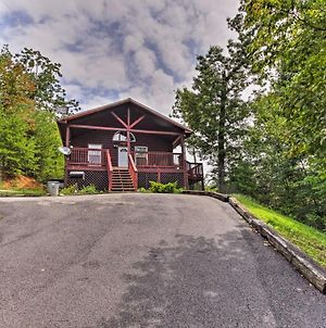 Cozy Family Cabin With Hot Tub - 5 Mi To Pigeon Forge photos Exterior