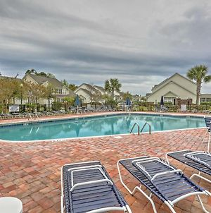 North Myrtle Beach Townhome With Lanai And Pool Access photos Exterior