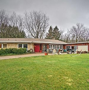 South Haven Home With Grill And Fire Pit-Walk To Shore! photos Exterior