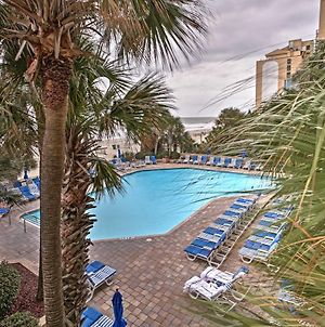 Oceanfront Myrtle Beach Condo With Pool And Lazy River! photos Exterior