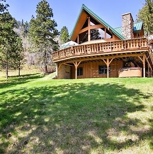 Black Hills Hideaway With Wraparound Deck And Hot Tub! photos Exterior