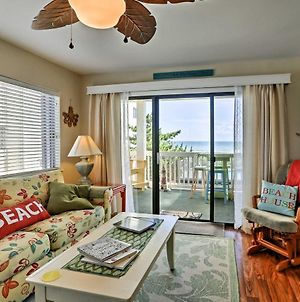 Condo With Large Oceanfront Deck & Captain Chairs! photos Exterior