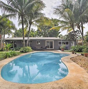 Renovated Oakland Park Home With Yard, Patio And Pool! photos Exterior