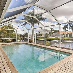 Cape Coral House With Private Pool, Dock And Views! photos Exterior