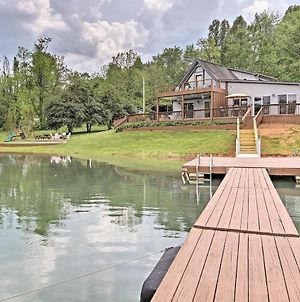 Hiawassee Home With Boat Slip And Dock On Chatuge Lake photos Exterior
