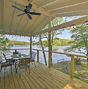 Serene Lakefront Harrison Cottage With Dock & Views! photos Exterior