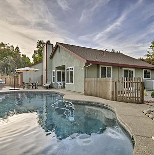 Modern Home With Pool And Office - Near Dt Sacramento! photos Exterior
