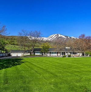 Wellsville House With Mtn Views, Yard And Tennis Court! photos Exterior