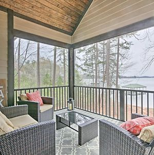 Seneca Home With Porch & Private Dock On Lake Keowee! photos Exterior