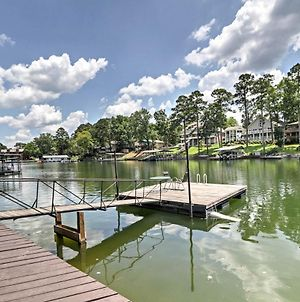 Cute Lakefront Hot Springs Condo With Balcony And Dock! photos Exterior