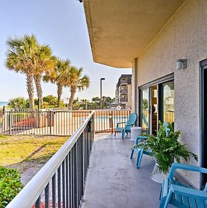 Oceanfront Myrtle Beach Condo With Patio And Pools! photos Exterior