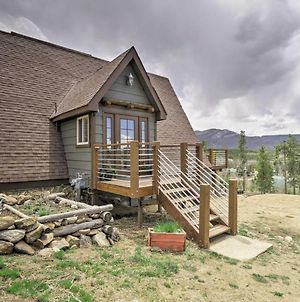 Rustic Home With Fire Pit And Mtn Views -30 Min To Rmnp photos Exterior