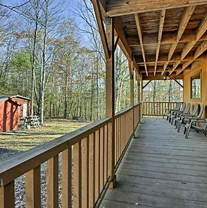 Rustic Benton Home On 50 Acres With Deck & Views! photos Exterior