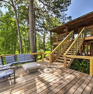 Riverfront Houston House With Deck And Private Dock! photos Exterior
