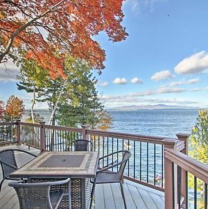 Waterfront Gilford Home With Stunning Lake Views! photos Exterior