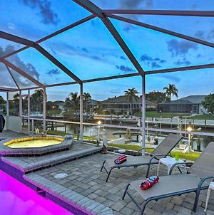 Cape Coral Canal Home With Dock And Pool - Near Gulf! photos Exterior