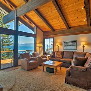 Waterfront Tahoe City Home W/Decks+Stunning Views! photos Exterior