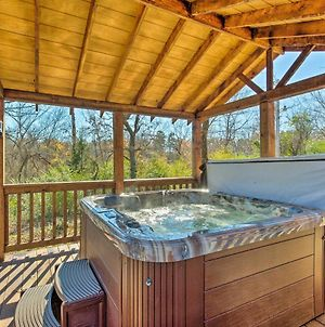 Cozy Broken Bow Cabin With Jacuzzi, Fire Pit And Porch! photos Exterior