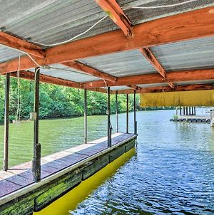 Waterfront Hot Springs Cabin With Deck & Private Dock photos Exterior
