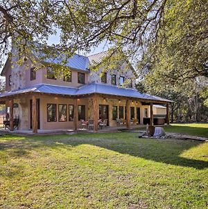 Riverfront Home W/Shaded Porch+Hottub By Dt Blanco photos Exterior