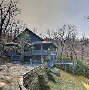 Blue Ridge Mtn Cabin With Huge Decks, Hot Tub And Views photos Exterior