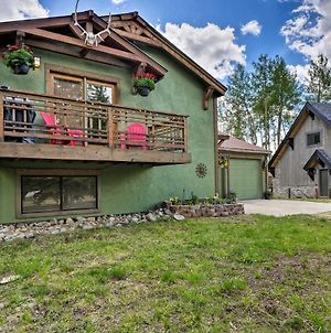 Rocky Mtn Retreat With Balcony, Fire Pit And Grill! photos Exterior