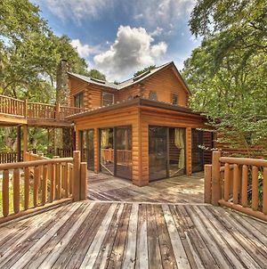 Quiet Inverness Log Cabin With Furnished Deck! photos Exterior