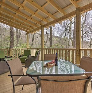 Charming Linville Mountain Studio With Deck & Views! photos Exterior