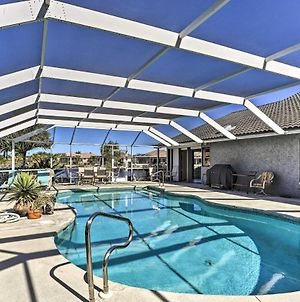 Canalfront Cape Coral Home With Pool & Dock! photos Exterior