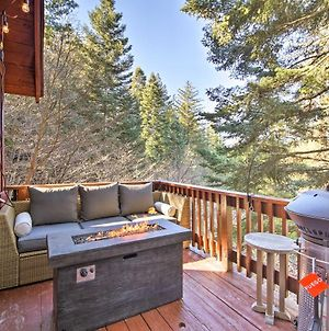 Chic Lake Arrowhead Cabin With Deck 2 Mi To Village photos Exterior