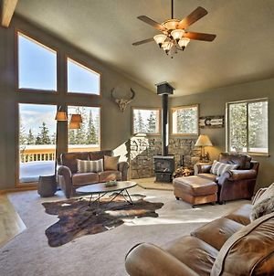 Fairplay Cabin With Deck And Mtn View 23 Mi To Breck! photos Exterior