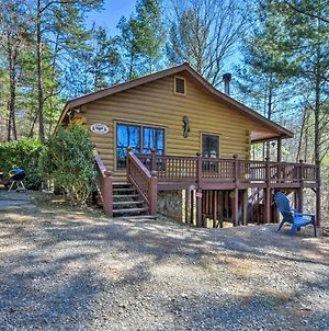 Pet-Friendly Ellijay Cabin With Hot Tub In Ntl Forest photos Exterior