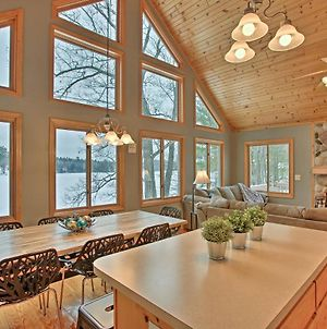 Cozy Waterfront Fife Lake Cottage With Dock And Kayaks! photos Exterior