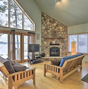 Eagle River House On Dam Lake With Dock And Backyard! photos Exterior