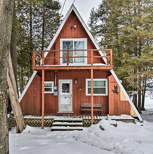 Cozy Deer Lake Cabin - 2 Mi To Boyne Mtn. Resort! photos Exterior