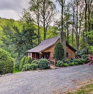 'Gathering Place Cabin' With Hot Tub & Fishing Pond! photos Exterior