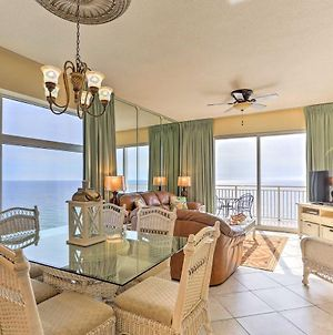 Oceanfront Panama City Beach Penthouse With Pool! photos Exterior