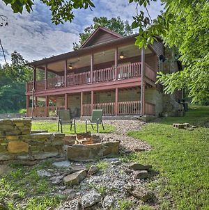 'Creekside Hideaway' Home W/Fire Pit+Creek Access! photos Exterior