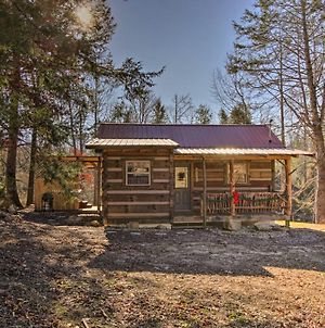 Peaceful Creekside Hideout Cabin With Hot Tub! photos Exterior