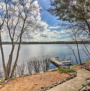 Brainerd Lakes Cabin On 2-Acres With Dock And Fire Pit photos Exterior