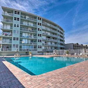 Oceanfront Daytona Studio With Views And Pool Access! photos Exterior