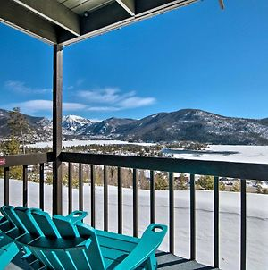 Updated Mtn Condo With Views & Deck Less Than 1 Mi To Lake! photos Exterior