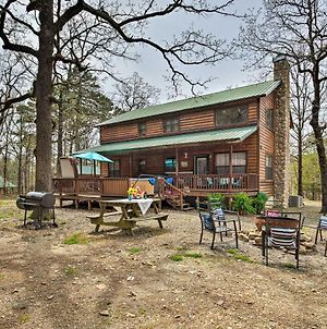 Beavers Bend State Park Cabin With Hot Tub And Fire Pit photos Exterior