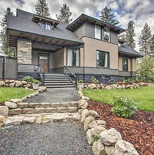 Historic Spokane Home With Hot Tub, Patio, Yard Games photos Exterior