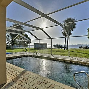 Punta Gorda Waterfront Home With Private Pool And Dock! photos Exterior