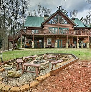 Luxury Lake Hartwell Villa With Dock, Theater And Hot Tub photos Exterior
