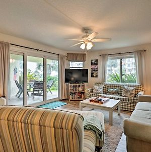 St Augustine Beach Condo With Patio And Pool Access! photos Exterior
