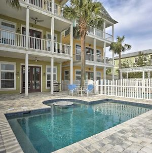 Panama City Beach Home With Private Dock & New Pool! photos Exterior