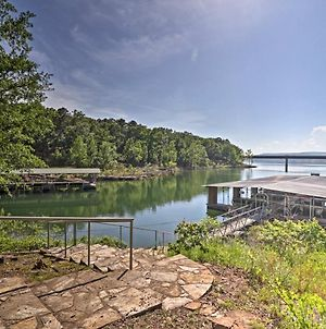 Greers Ferry Lakefront Home With Deck & Boat Slips! photos Exterior